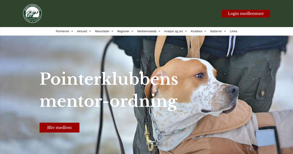 Dansk Pointer Klubs mentorordning