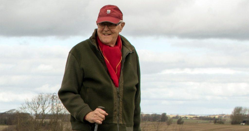 Æresmedlem Christian Johansen 80 år