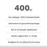 Dansk Pointer Klubs A-medlemskab