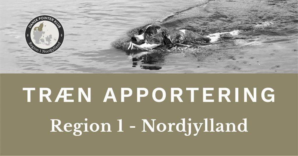 Apporteringstræning i Region 1