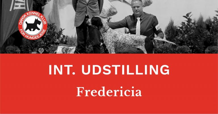 DKKs internationale udstilling i Fredericia