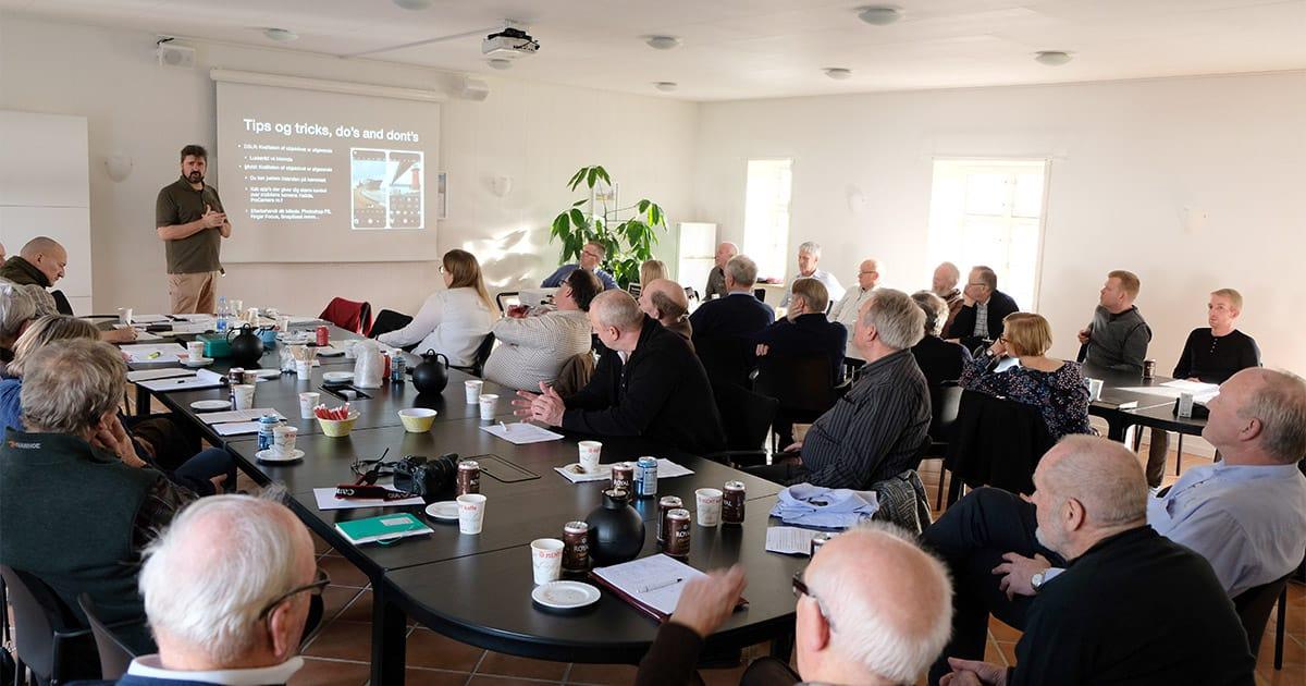 Årets vintermøde i Dansk Pointer Klub