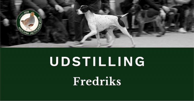 Anderkendt specialklub udstilling, Fredriks