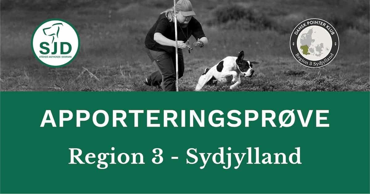 Anerkendt apporteringsprøve Sydjylland