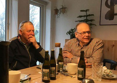 Hygge efter en træningstur med Kennel Boelsgaard