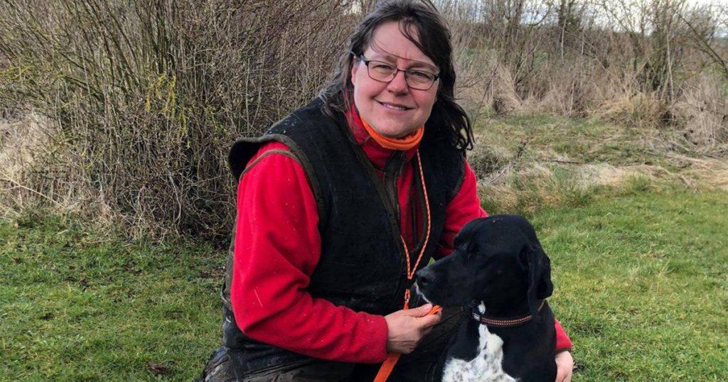 Winnie Beuchert Larsen med Stenmarkens C Nova