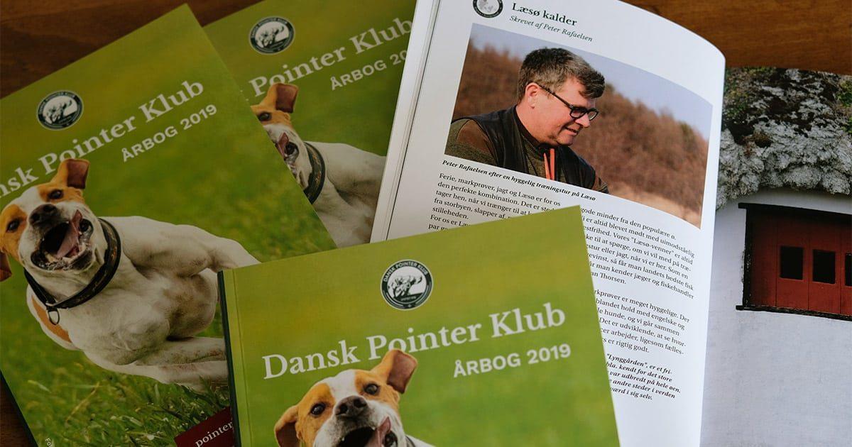 Køb Dansk Pointer Klubs årbog 2019
